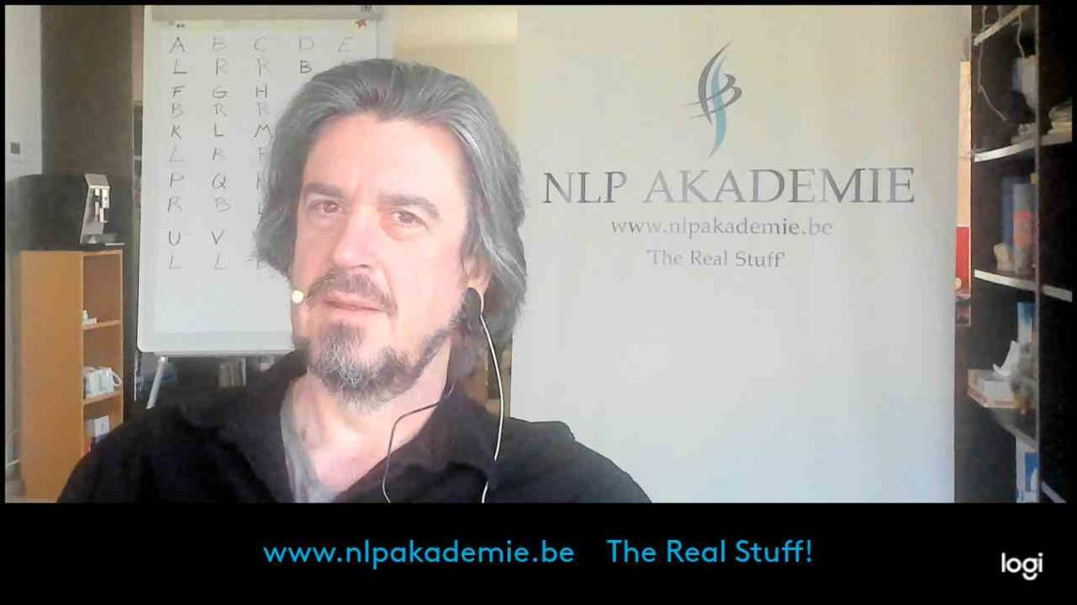 Series of 4 Webinars: introduction to the core skills of NLP (english spoken)